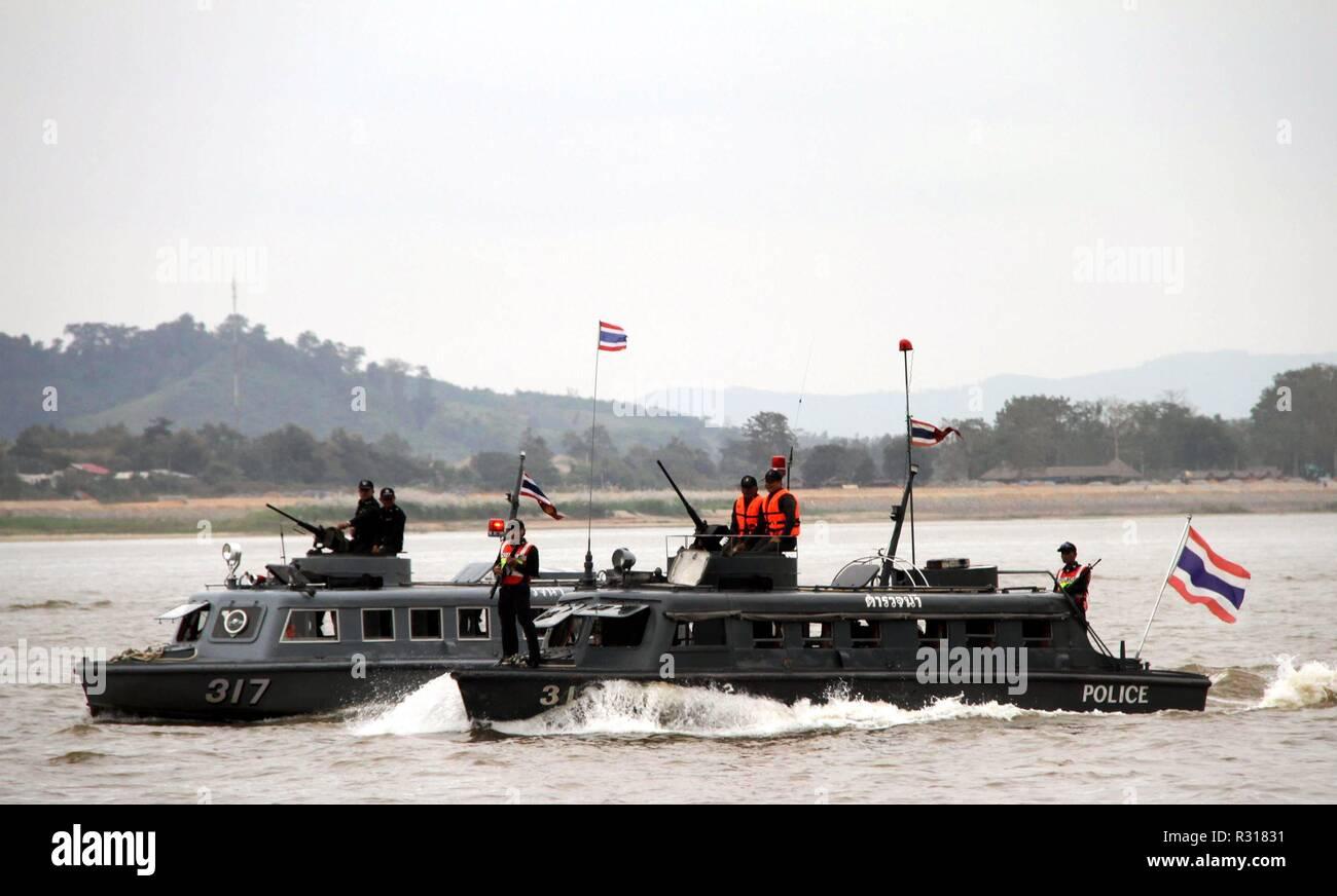 181121) -- BEIJING, Nov  21, 2018 (Xinhua) -- A Thai vessel