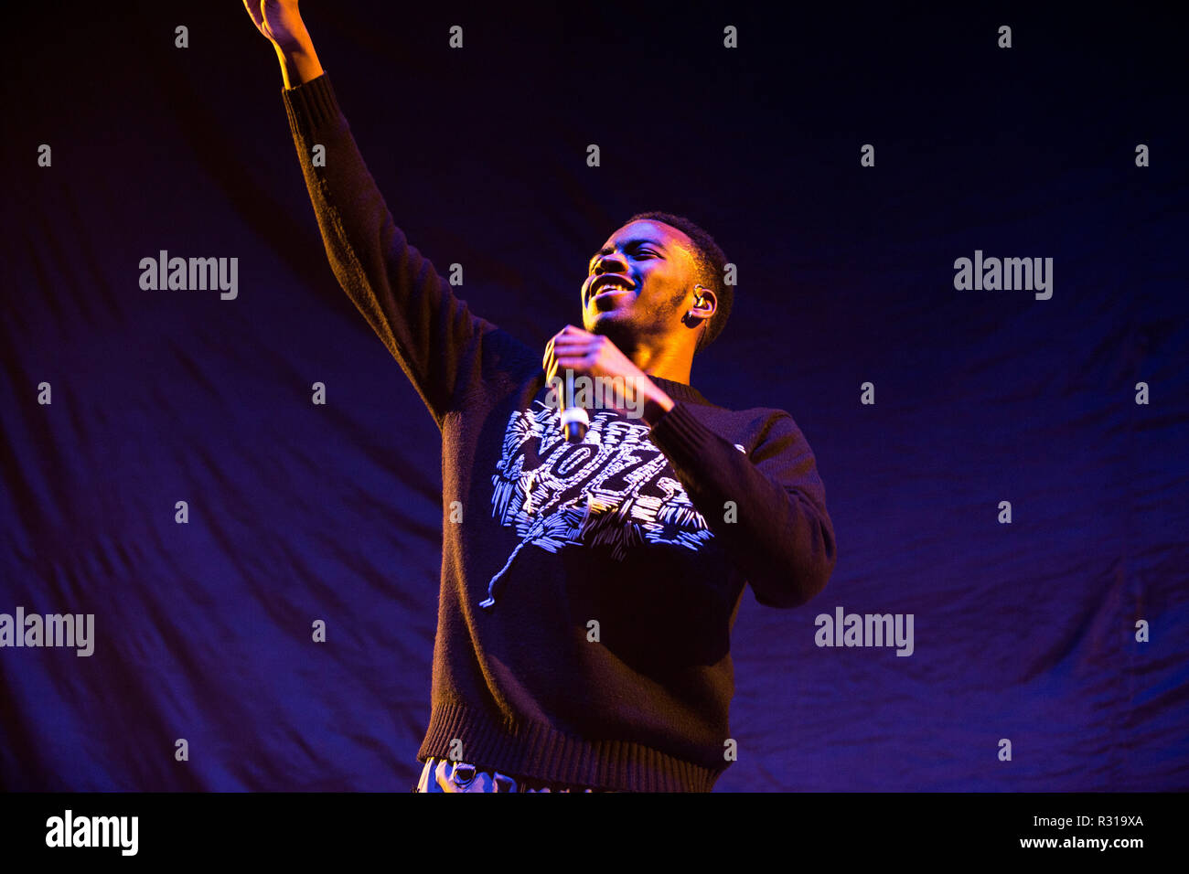 London, UK. 20th October, 2018. Not3s performing at the The 02 London on the 20th November 2018 Credit: Tom Rose/Alamy Live News Stock Photo