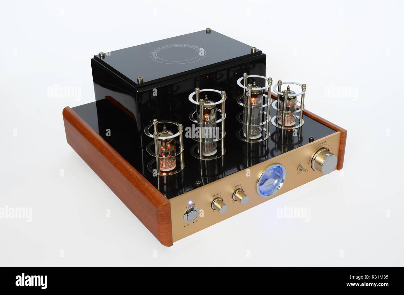 Valve Amplifier Stock Photos & Valve Amplifier Stock Images
