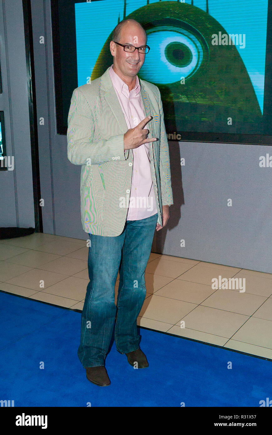 The 'Monsters Vs Aliens' movie premiere at the Greater Union George Street Cinema on March 5, 2009 in Sydney, Australia. Pictured: David Koch. - Stock Image