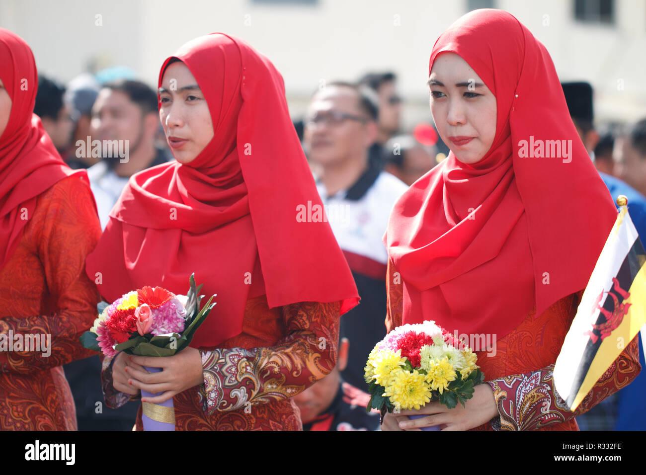 Brunei National Day - Stock Image
