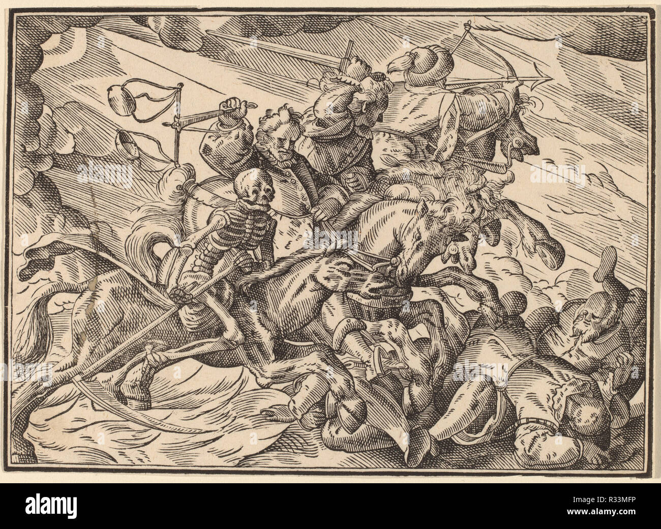 The Four Horsemen of the Apocalypse  Dated: published 1630