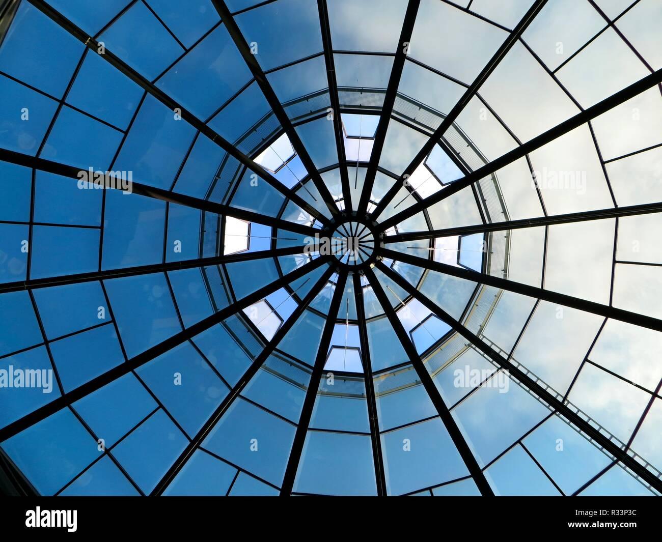 glass dome Stock Photo
