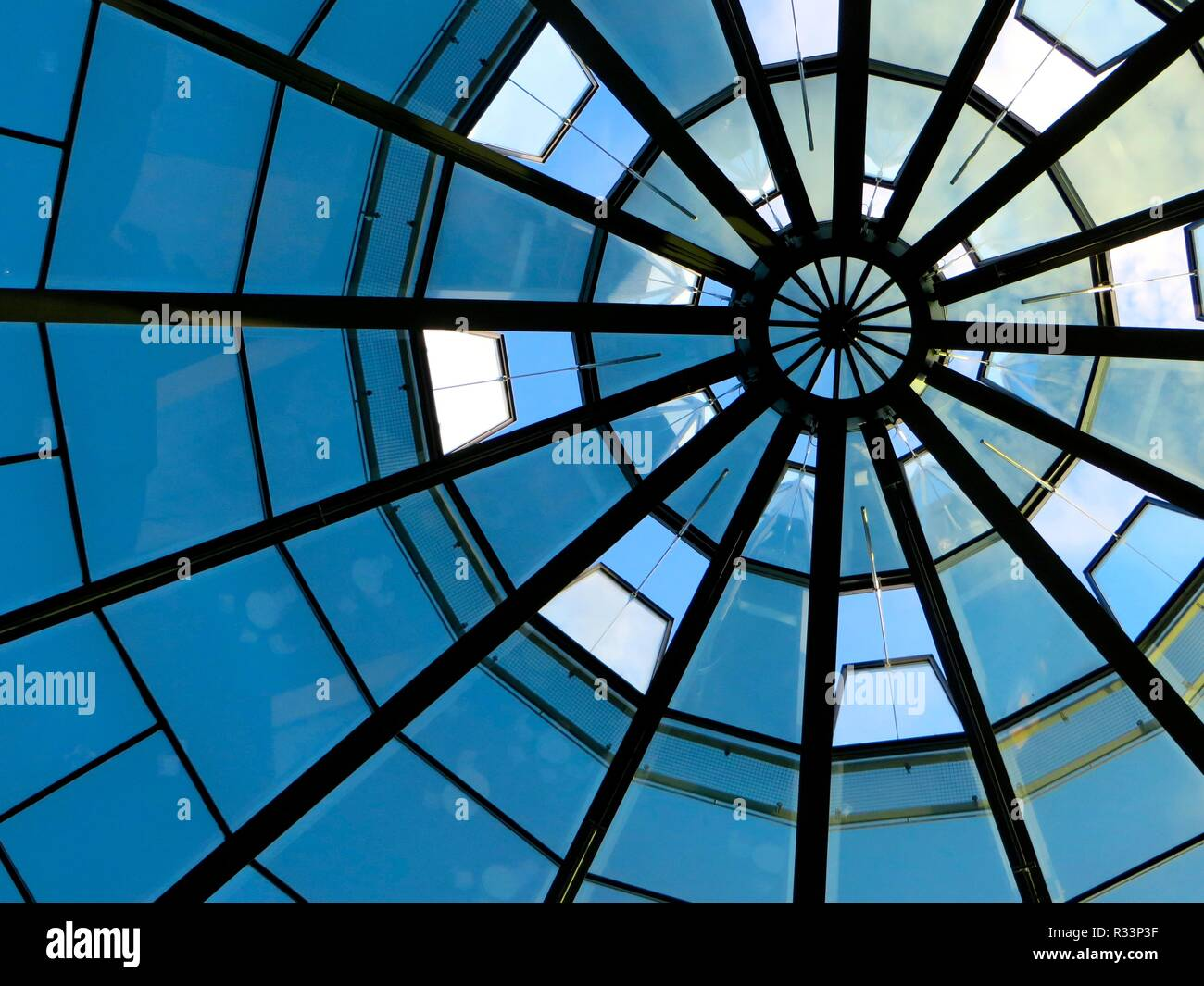 glass dome Stock Photo