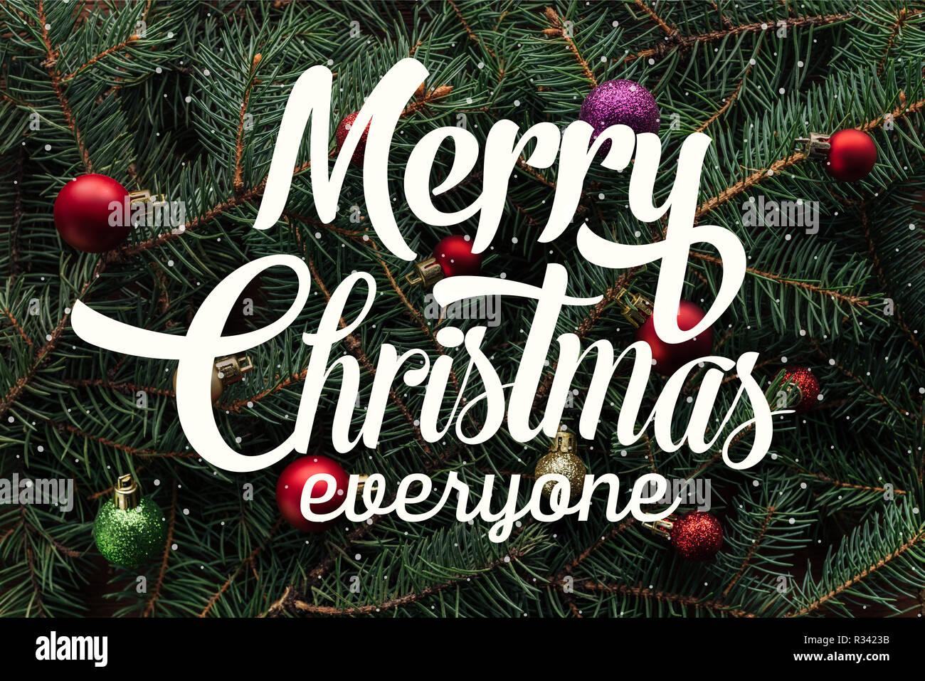 Merry Christmas Everyone.Merry Christmas Everyone Stock Photos Merry Christmas