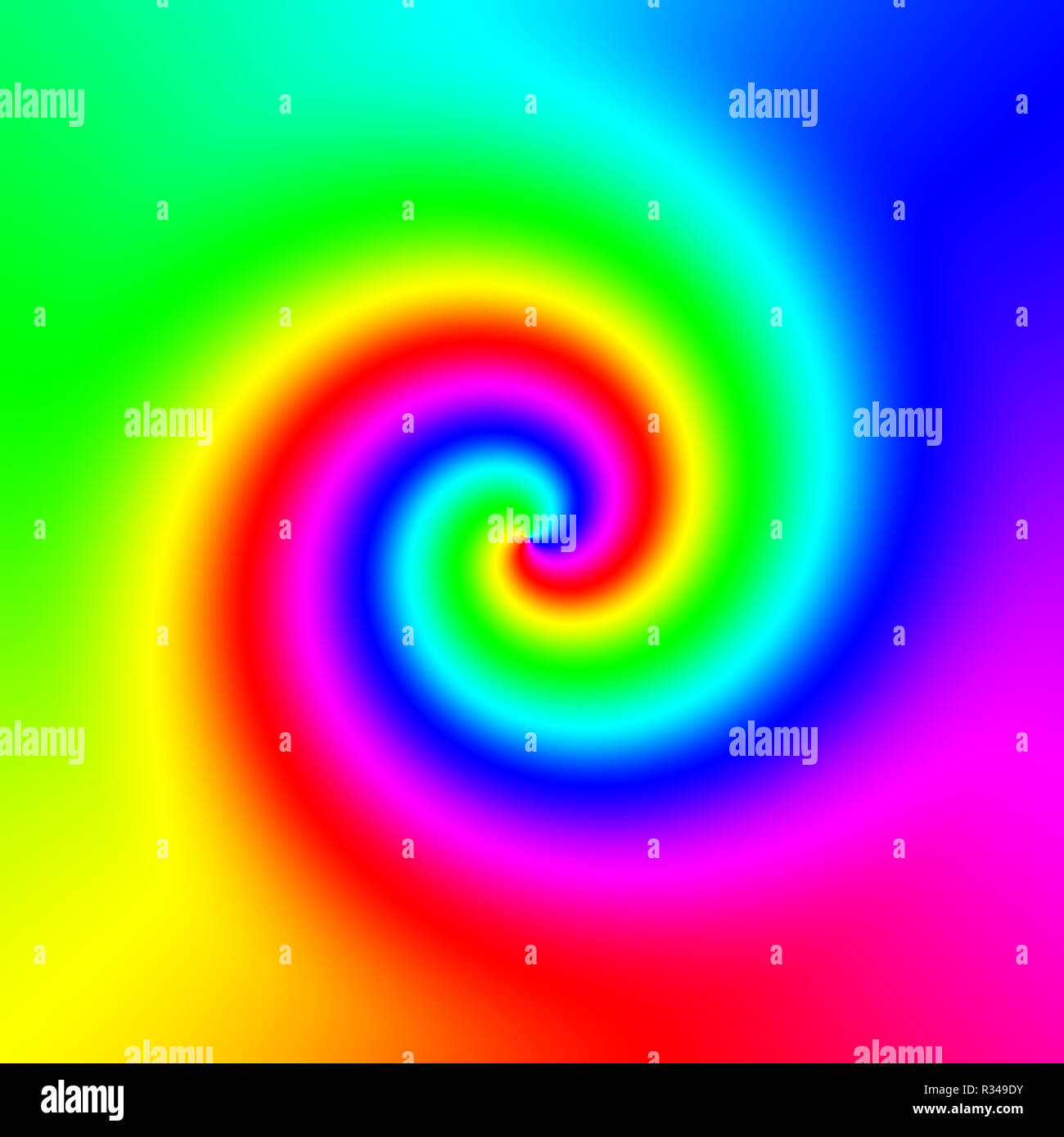 color wheel - Stock Image
