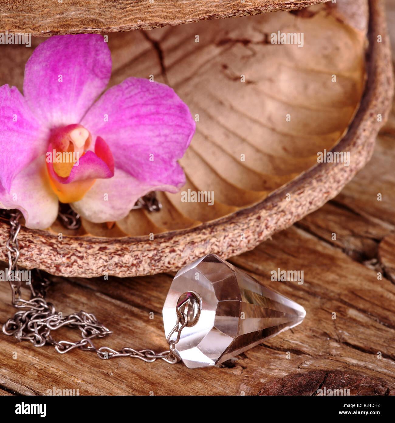 Divination Esoteric Pendulum Astrology Stock Photos