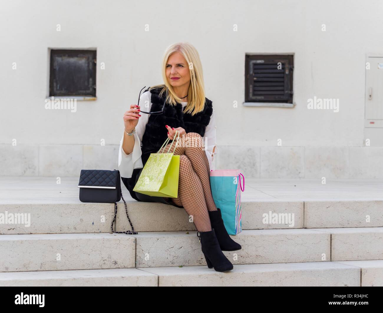 Mature woman Stock Photo