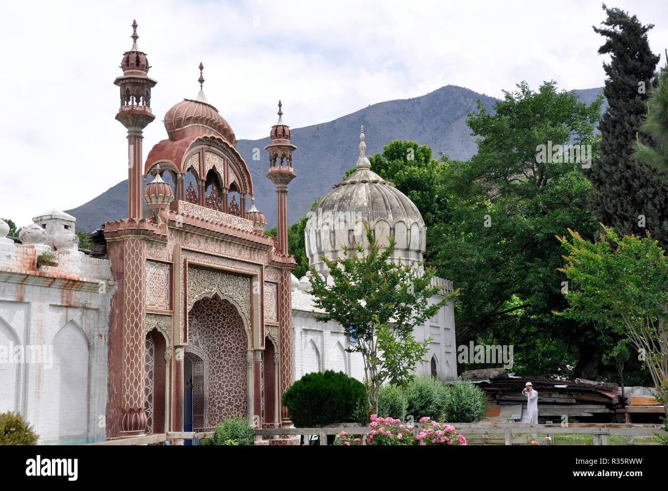 Pakistan, Chitral mosque - Stock Image