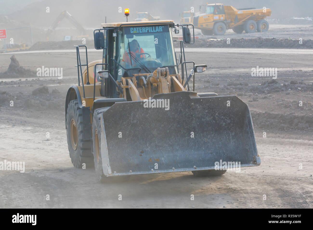 Cat Loading Shovel Stock Photos & Cat Loading Shovel Stock Images
