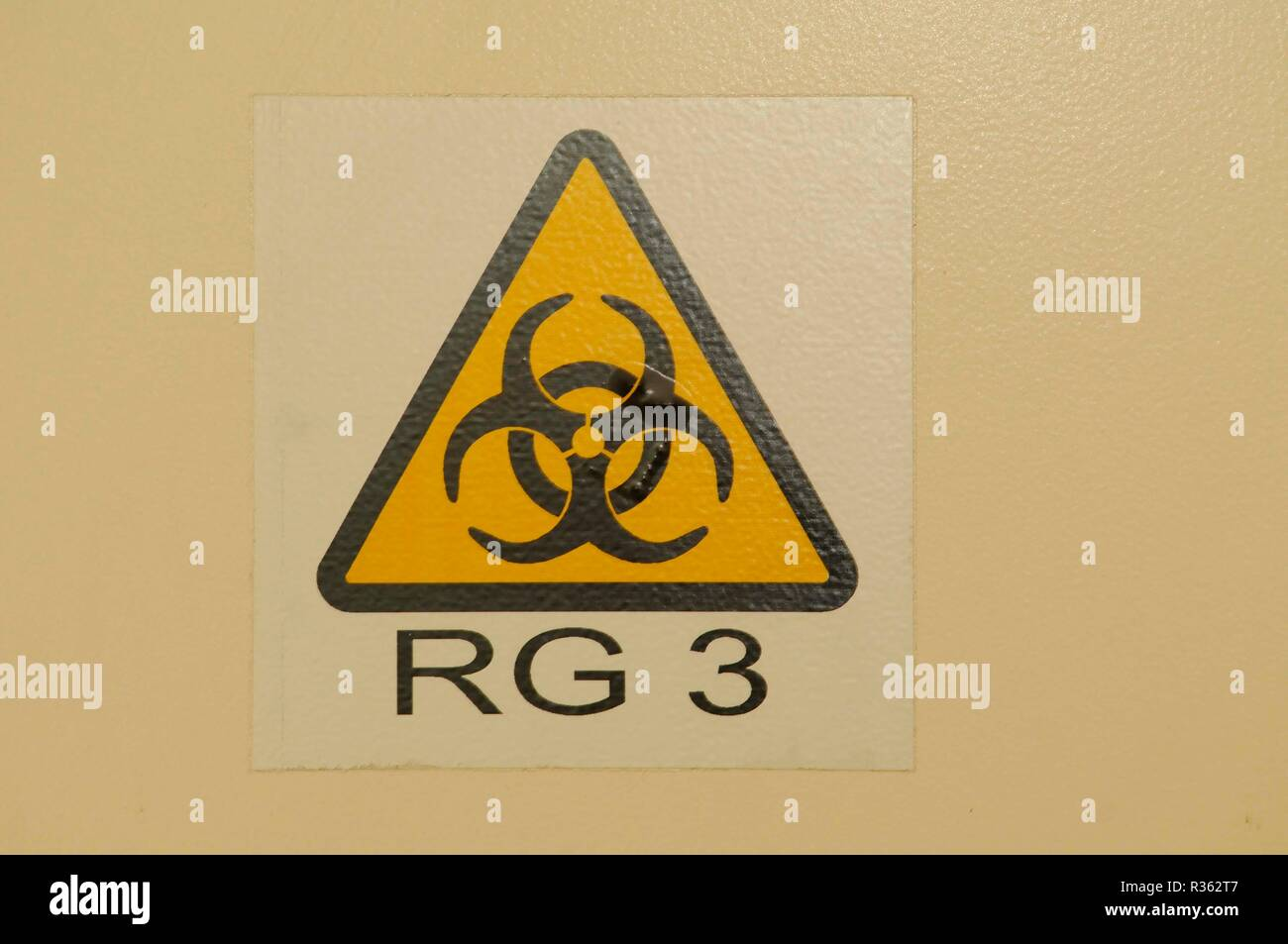biohazard,symbol,logo,danger,disease hazard,biohazard,epidemics,hygiene,clean,pure,healthy - Stock Image