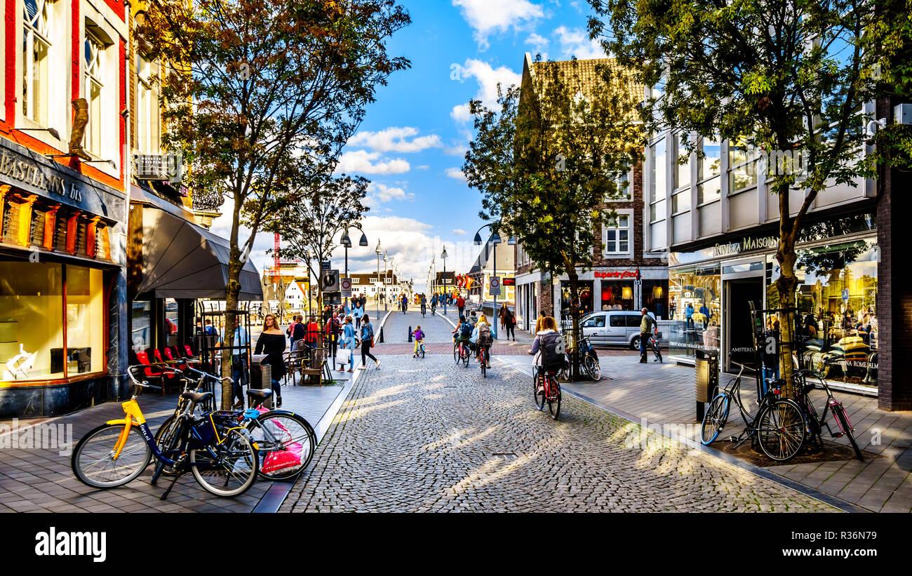 Shopping Center In Maastricht Netherlands Stock Photos Shopping