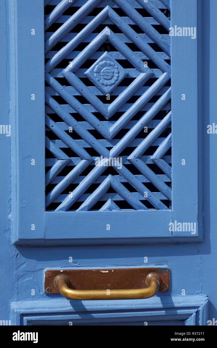 door in santa luzia,algarve Stock Photo
