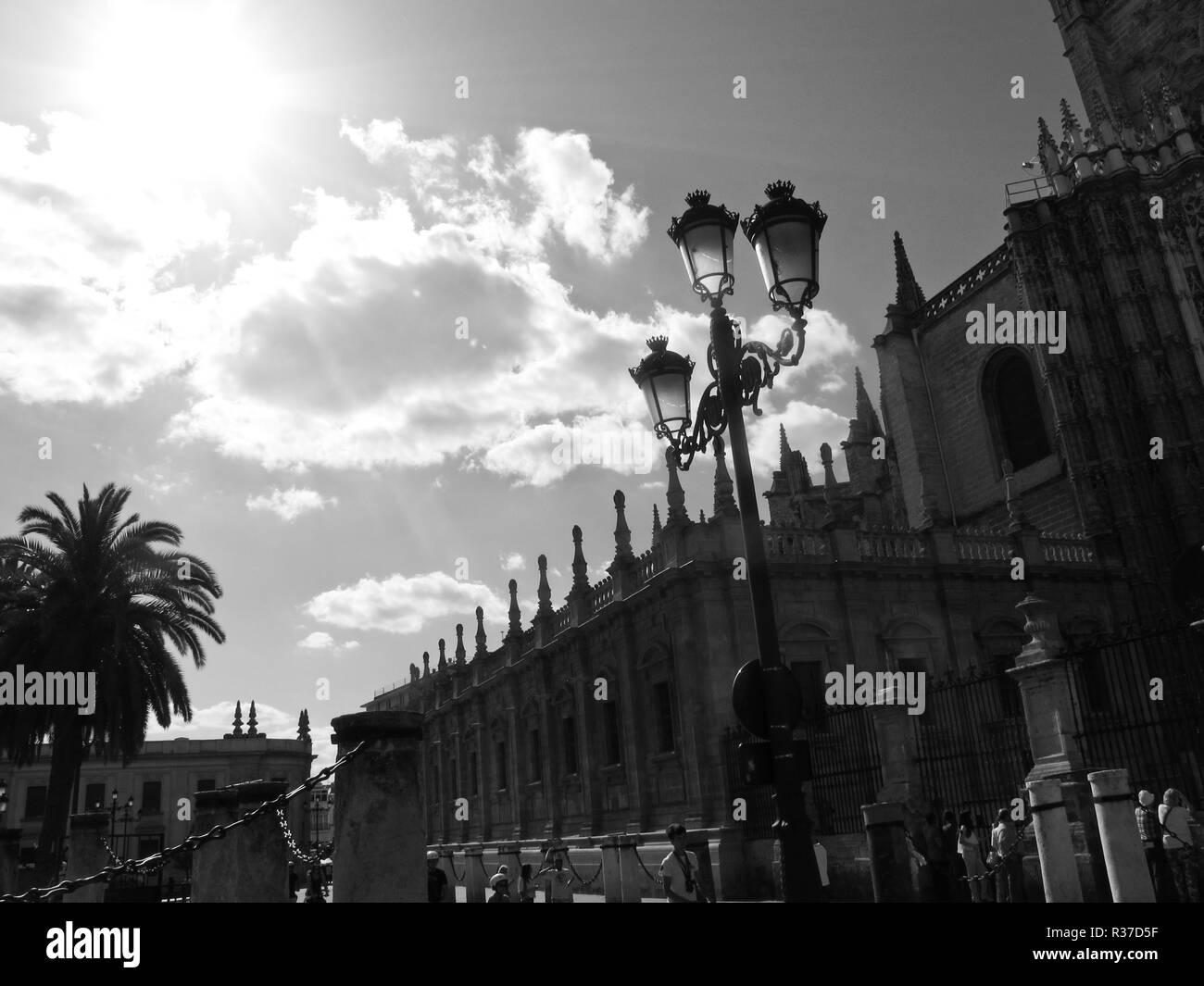Cathedral of Seville. Andalusia. Spain - Stock Image