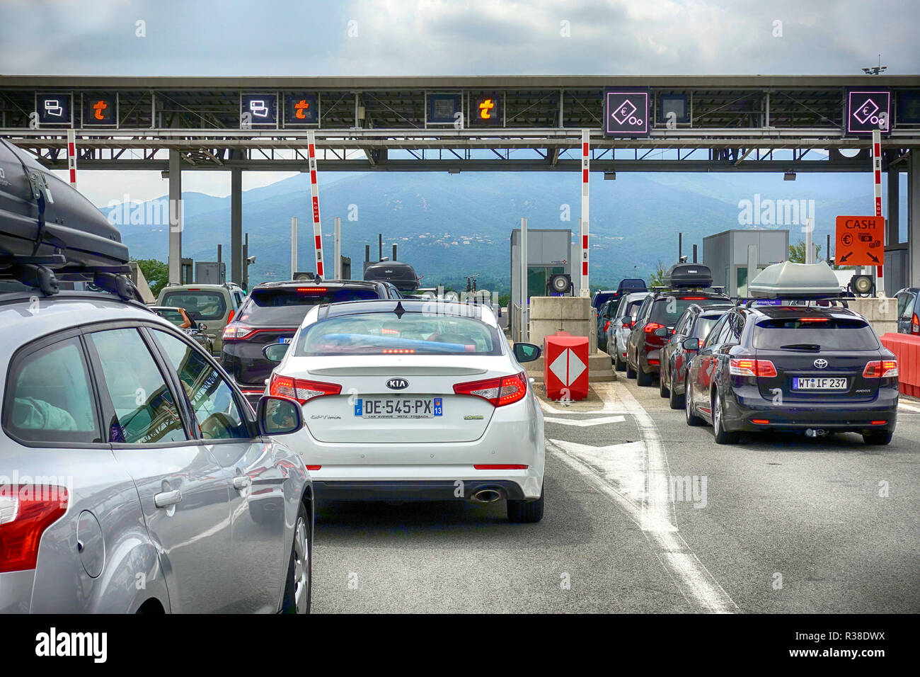 france motorway nice stock photos france motorway nice stock images alamy. Black Bedroom Furniture Sets. Home Design Ideas
