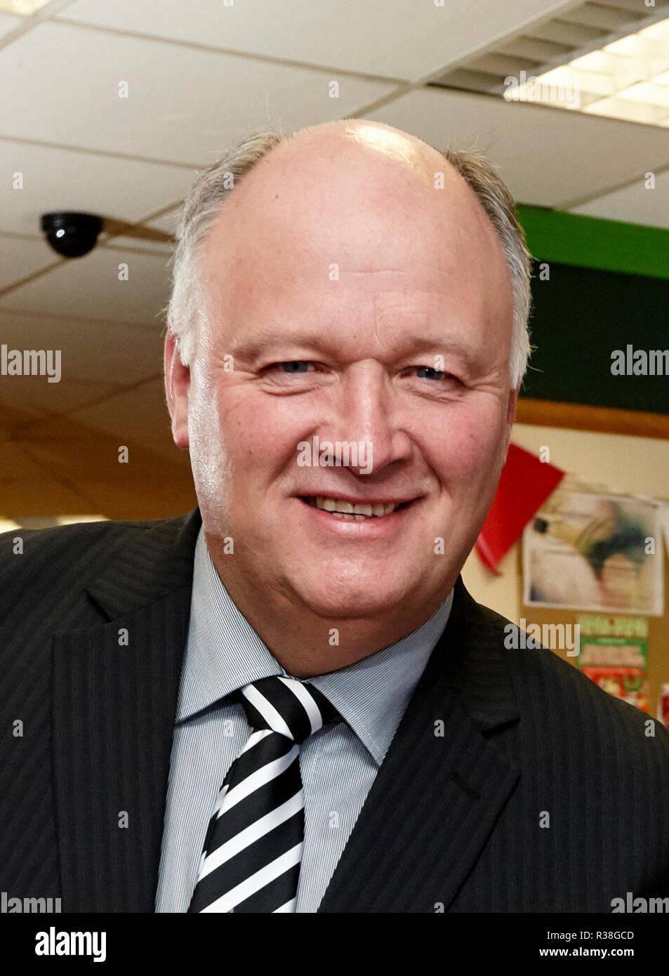 David Simpson MP Northern Ireland DUP politician - Stock Image