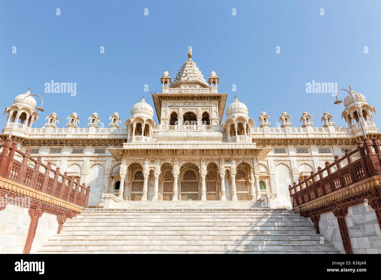 The Jaswant Thada Cenotaph in Jodhpur India Stock Photo