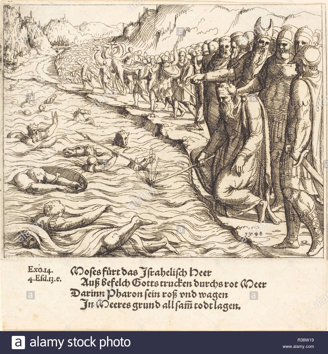 Dated: 1548. Medium: etching. Museum: National Gallery of Art, Washington  DC. Author: Augustin Hirschvogel.