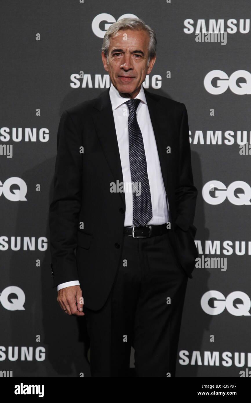 Photocall de los premios GQ Hombres del A–o 2018. (Photo: Jose Cuesta/261/Cordon Press). Imanol Arias   Photocall of GQ Men of Year Award 2018 in Madrid on Thursday , 22 november 2018 - Stock Image
