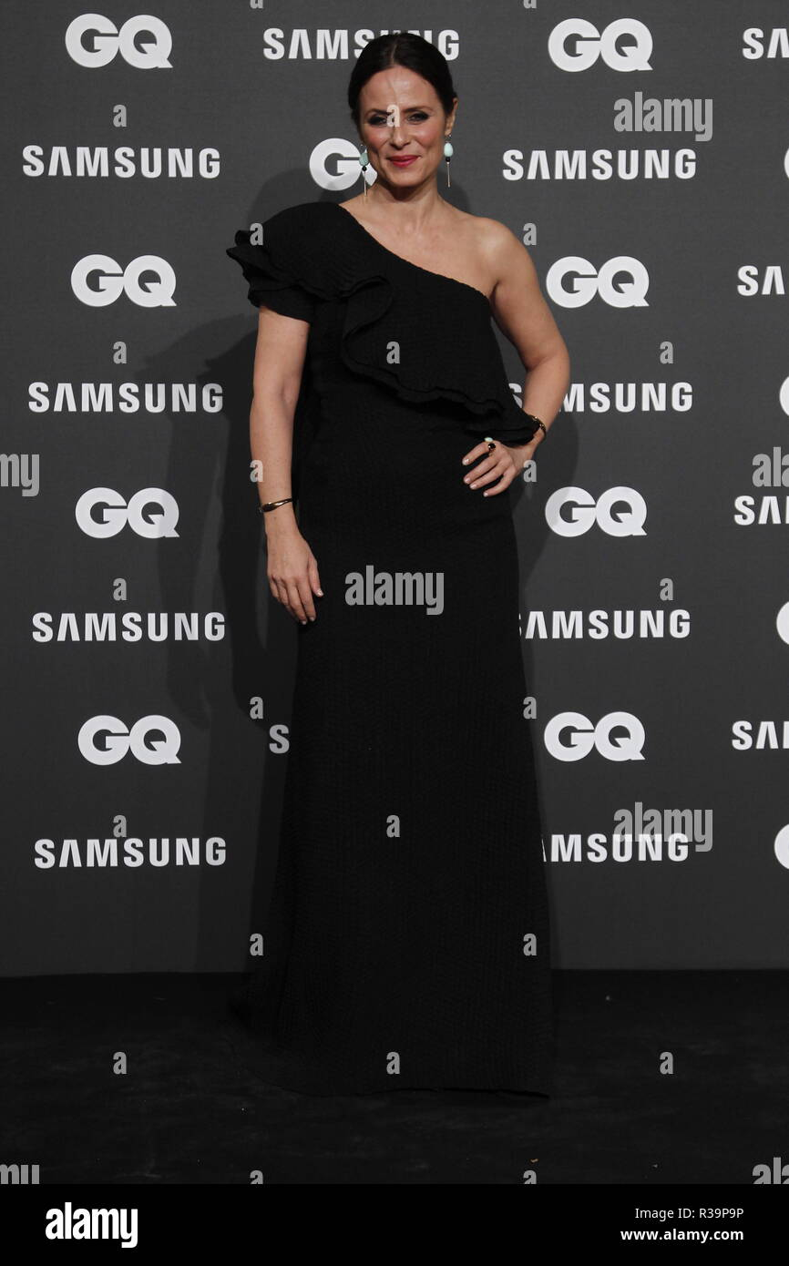 Photocall de los premios GQ Hombres del A–o 2018. (Photo: Jose Cuesta/261/Cordon Press). Aitana Sanchez Gijon   Photocall of GQ Men of Year Award 2018 in Madrid on Thursday , 22 november 2018 - Stock Image