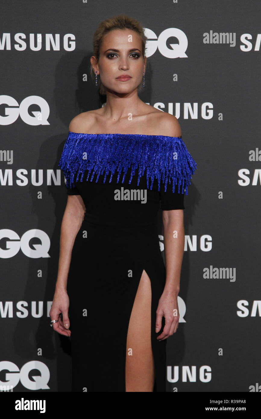 Photocall de los premios GQ Hombres del A–o 2018. (Photo: Jose Cuesta/261/Cordon Press). Ana Fernandez   Photocall of GQ Men of Year Award 2018 in Madrid on Thursday , 22 november 2018 - Stock Image