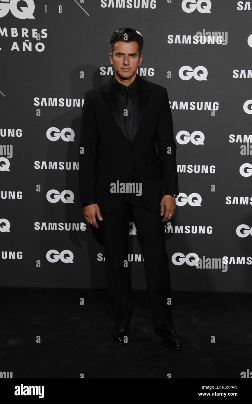 Photocall de los premios GQ Hombres del A–o 2018. (Photo: Jose Cuesta/261/Cordon Press). Orson Salazar   Photocall of GQ Men of Year Award 2018 in Madrid on Thursday , 22 november 2018 - Stock Image