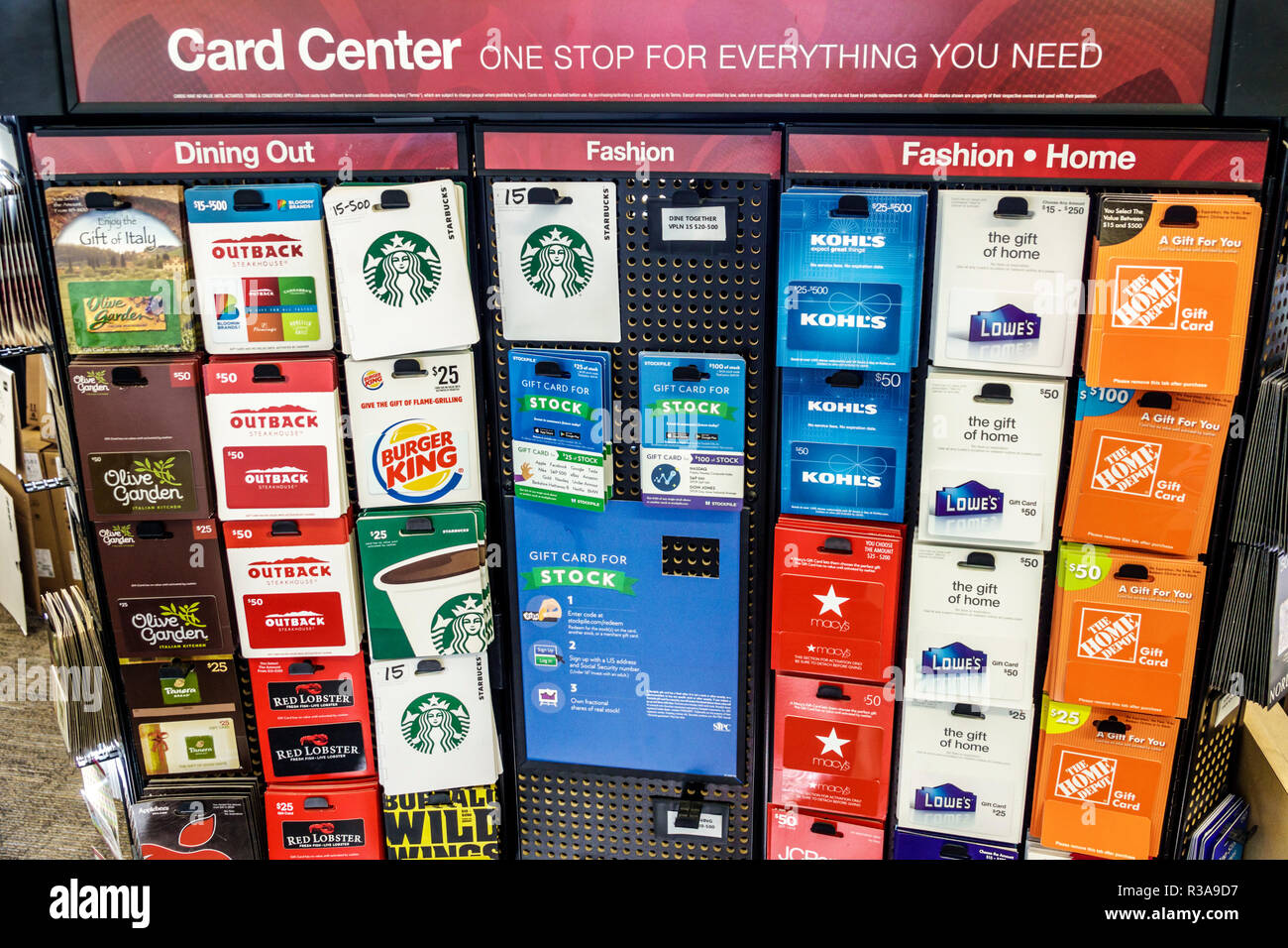 Miami Beach Florida Office Depot Inside Business Display Sale Gift