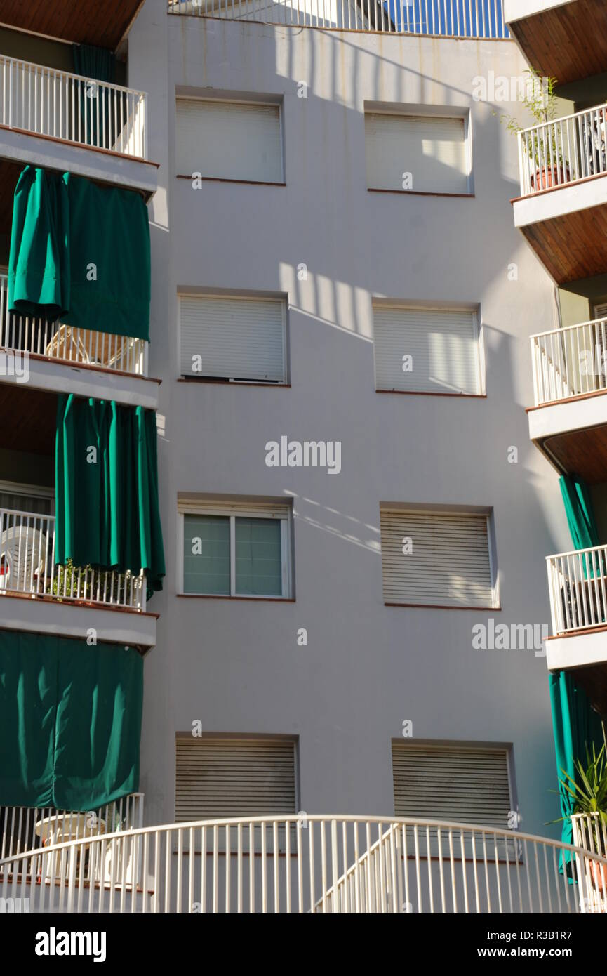 house mallorca in lloret de mar - costa brava - spain - Stock Image