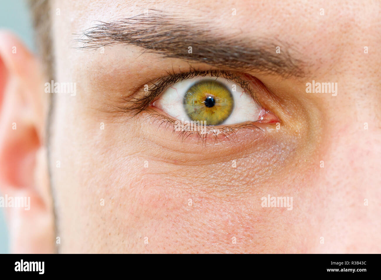 eyes of a man Stock Photo