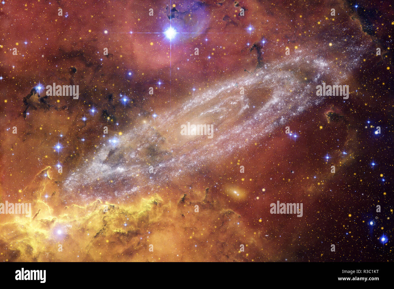 Beauty Deep Space Science Fiction Fantasy In High