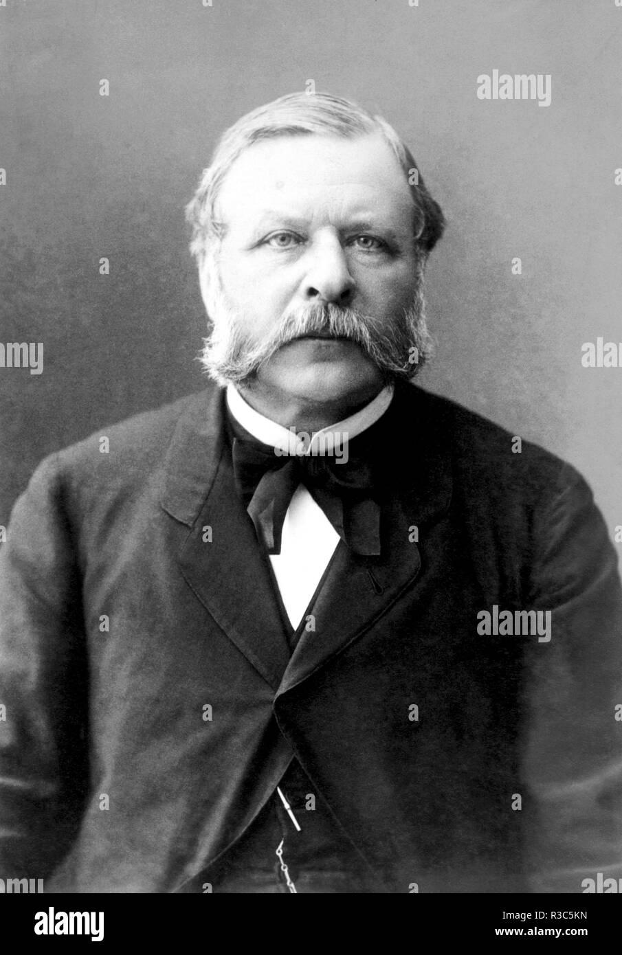 WILLIAM WADDINGTON (1826-1894) French statesman - Stock Image