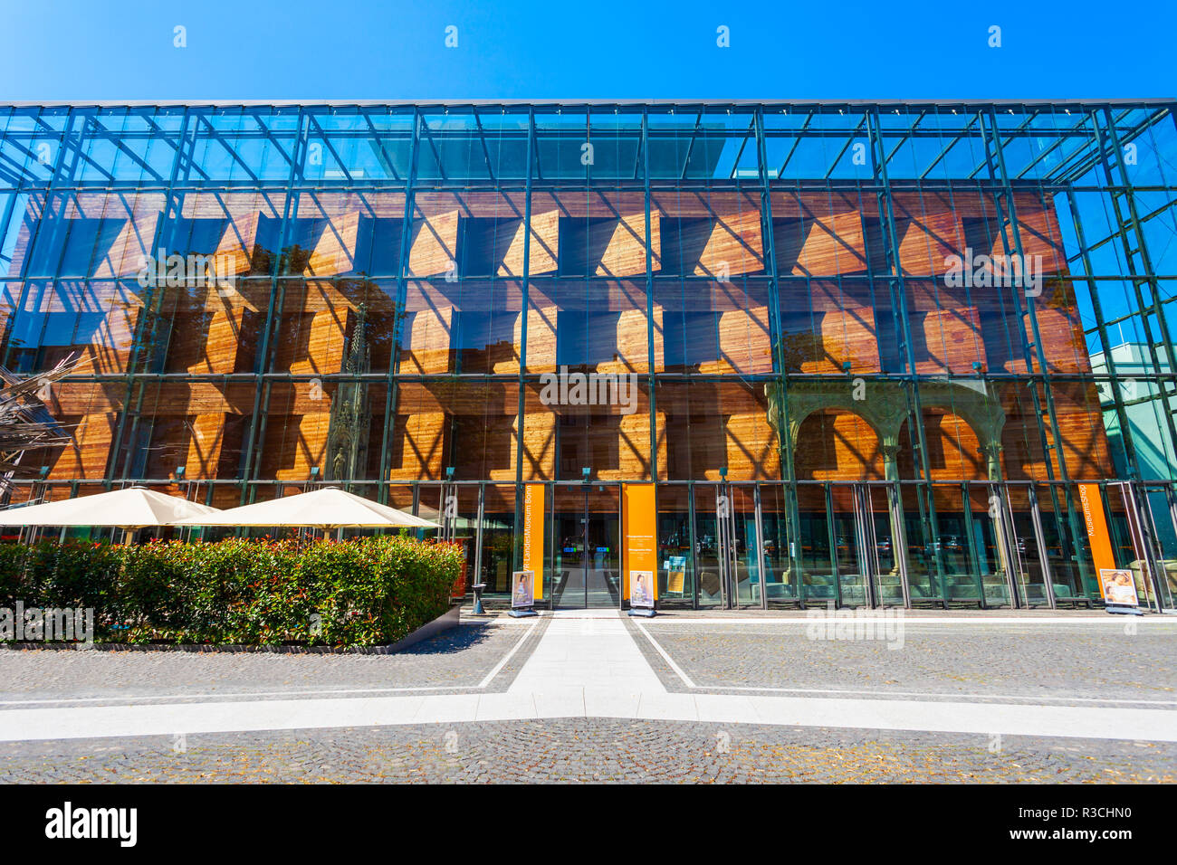 BONN, GERMANY - JUNE 29, 2018: Rheinisches Landesmuseum Bonn is a one of the oldest museum in Bonn, Germany Stock Photo