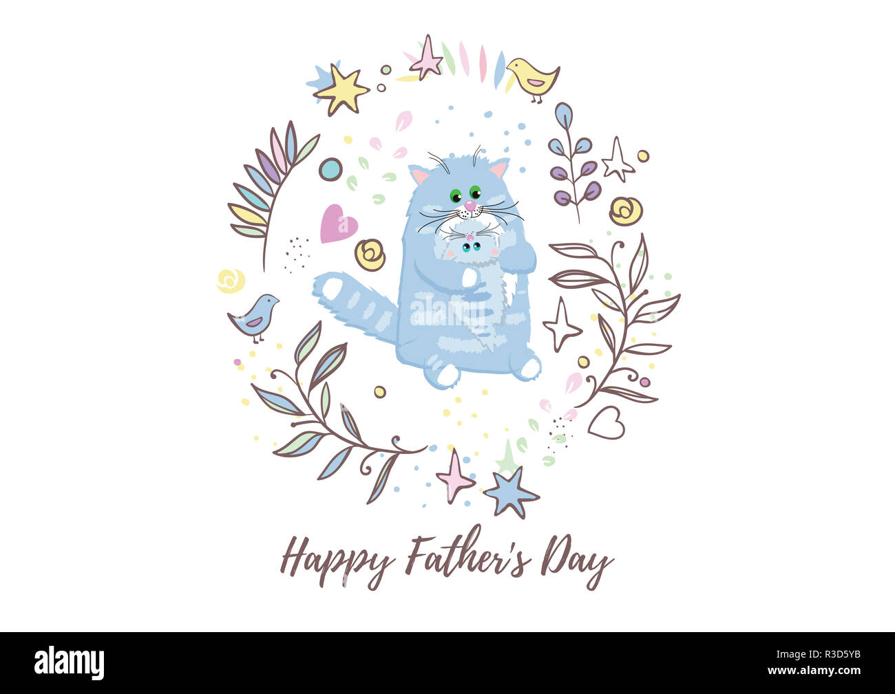 Weihnachtswünsche Modern.Holiday Greetings Illustration Father S Day Illustration For You