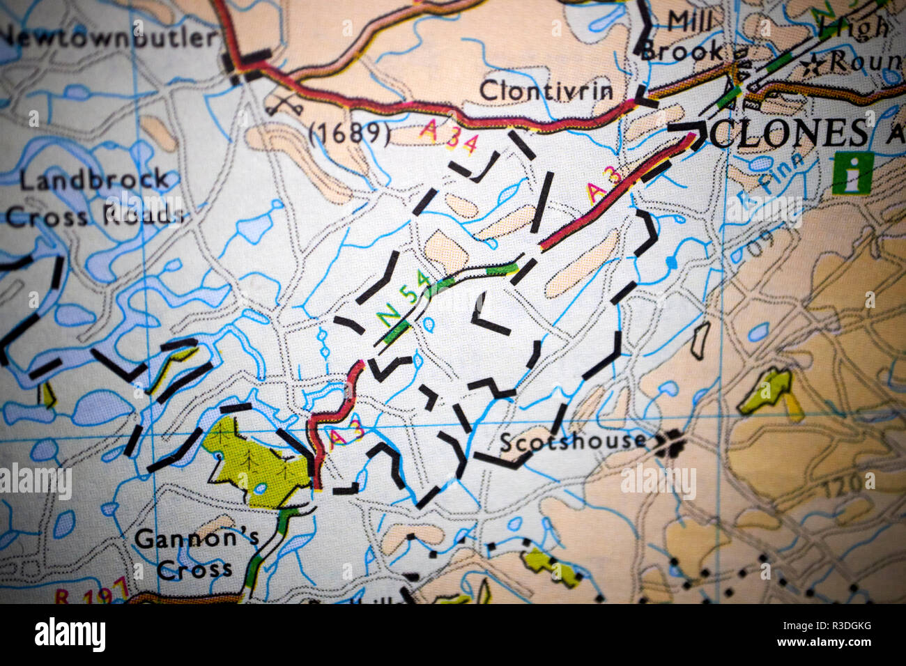 Map Of N Ireland.Northern Ireland Map Stock Photos Northern Ireland Map Stock