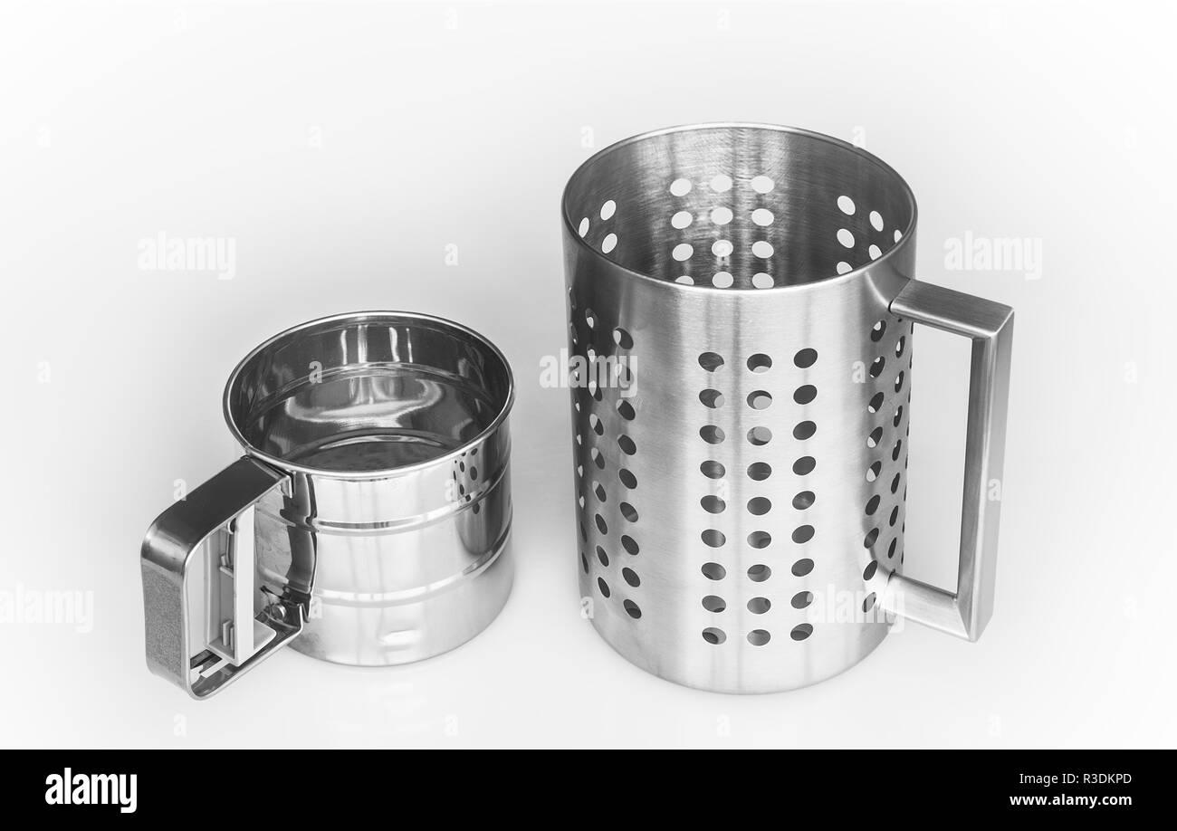 the sieves muge like; isolated - Stock Image