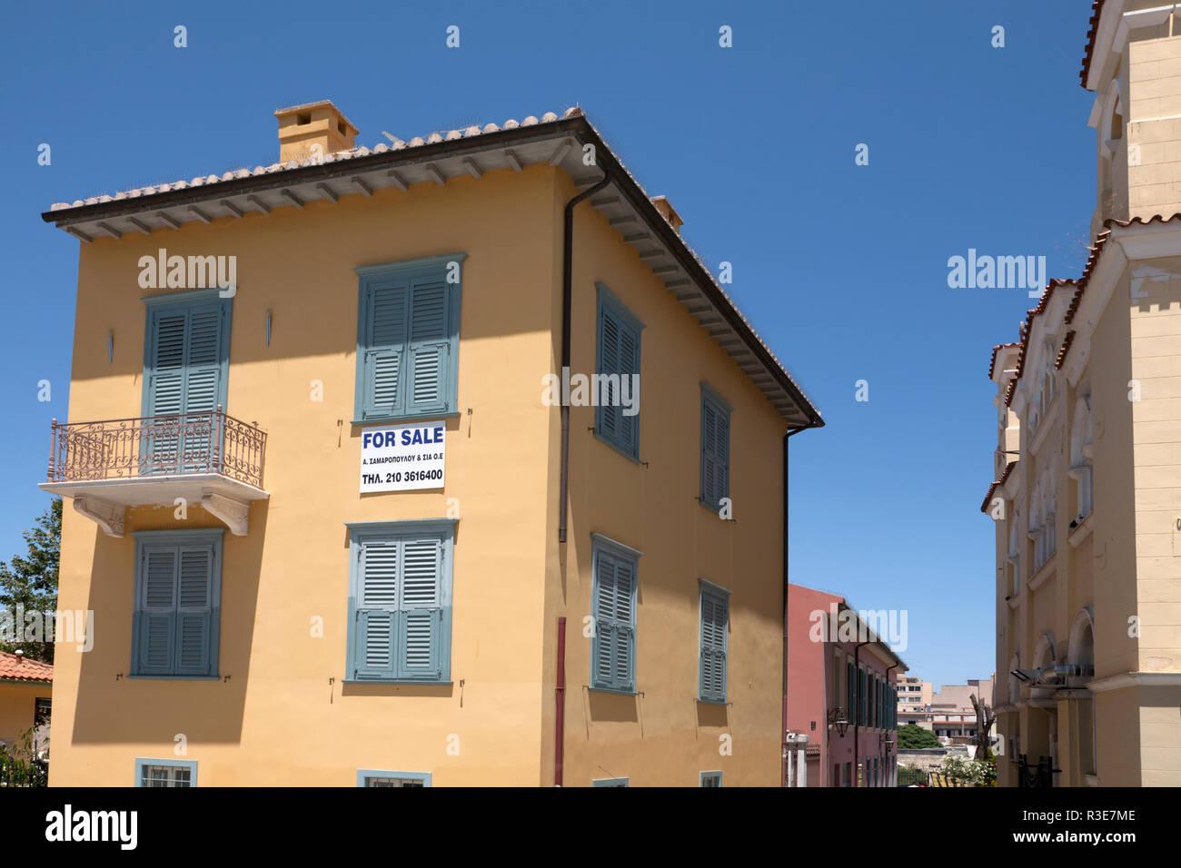 house for sale monastiraki athens greece - Stock Image