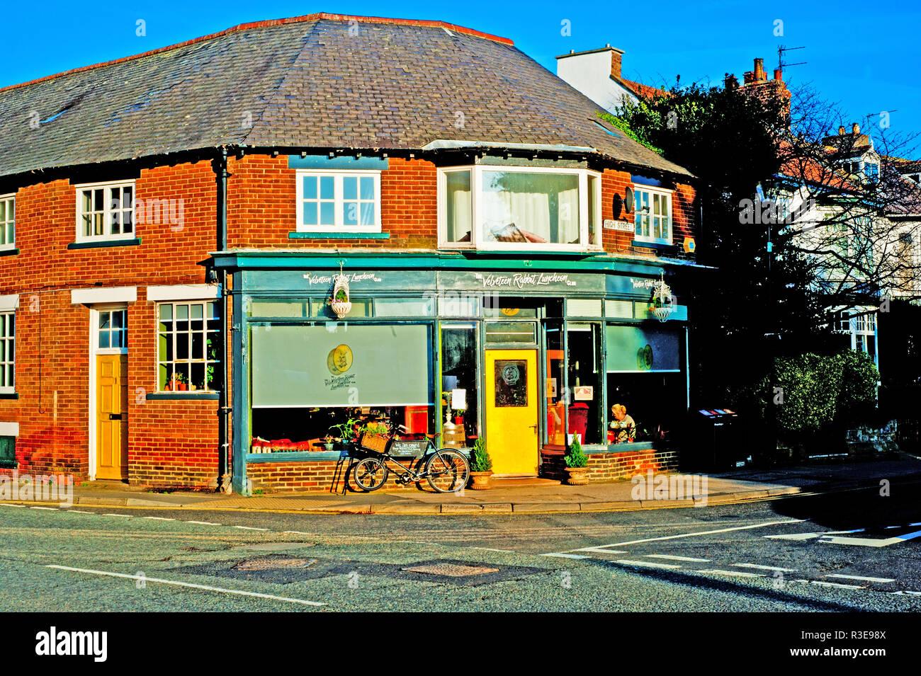 The Velveteen Rabbit Luncheon, Great Ayton, North Yorkshire, England - Stock Image