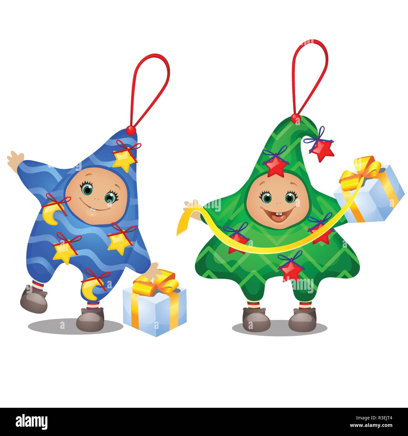 Carnival Costumes For Children Set Of Soft Funny Christmas