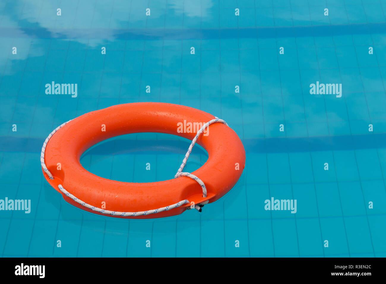 Bright Orange Life Buoy Stock Photos Bright Orange Life Buoy Stock Images Alamy