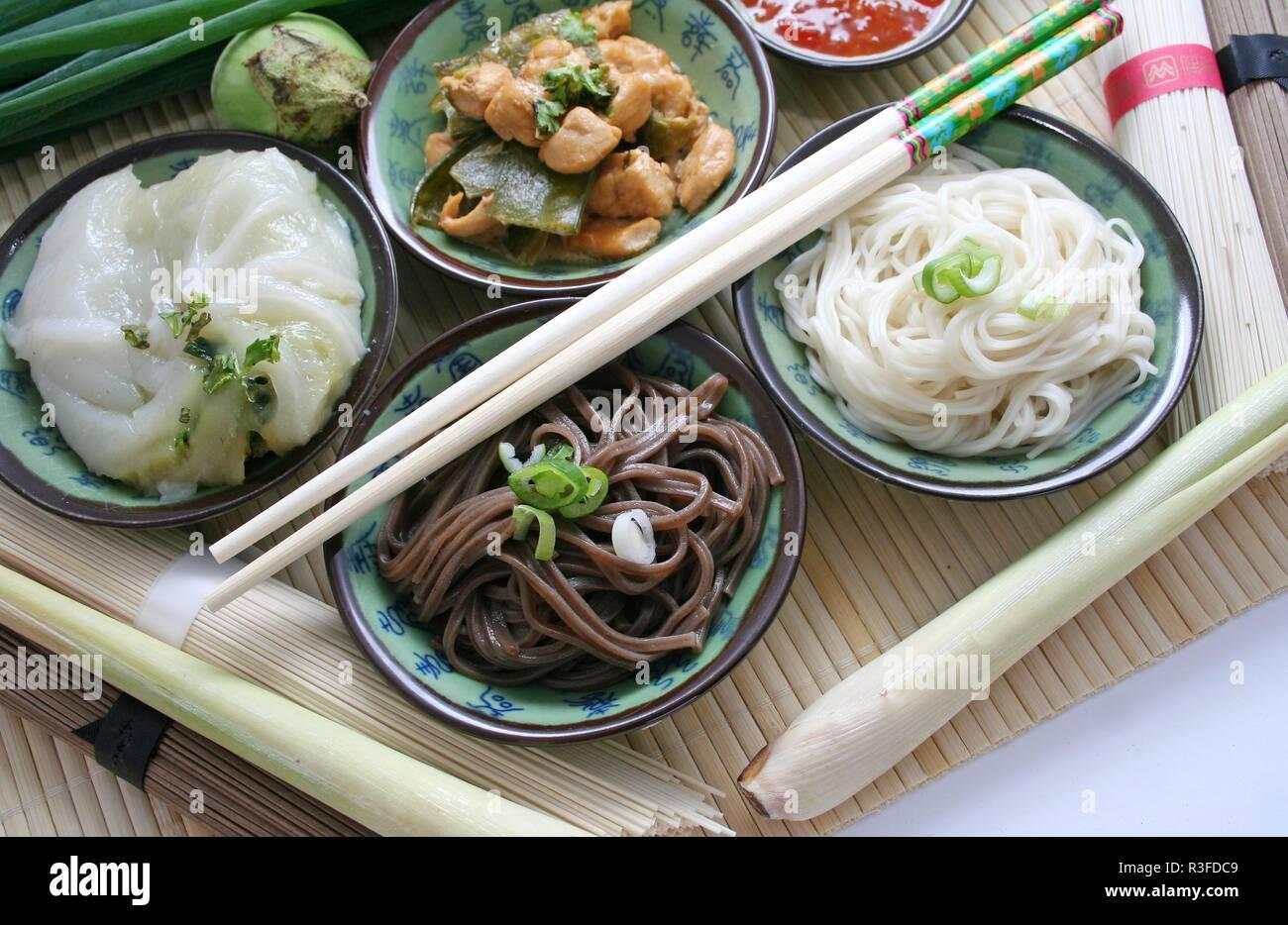 asian specialties - Stock Image