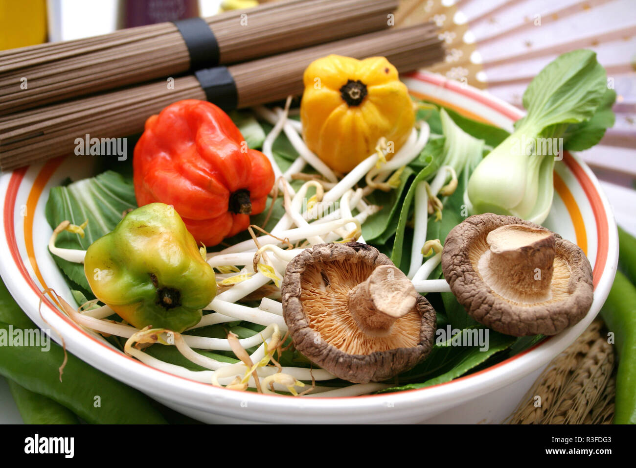 chinese delicacies - Stock Image