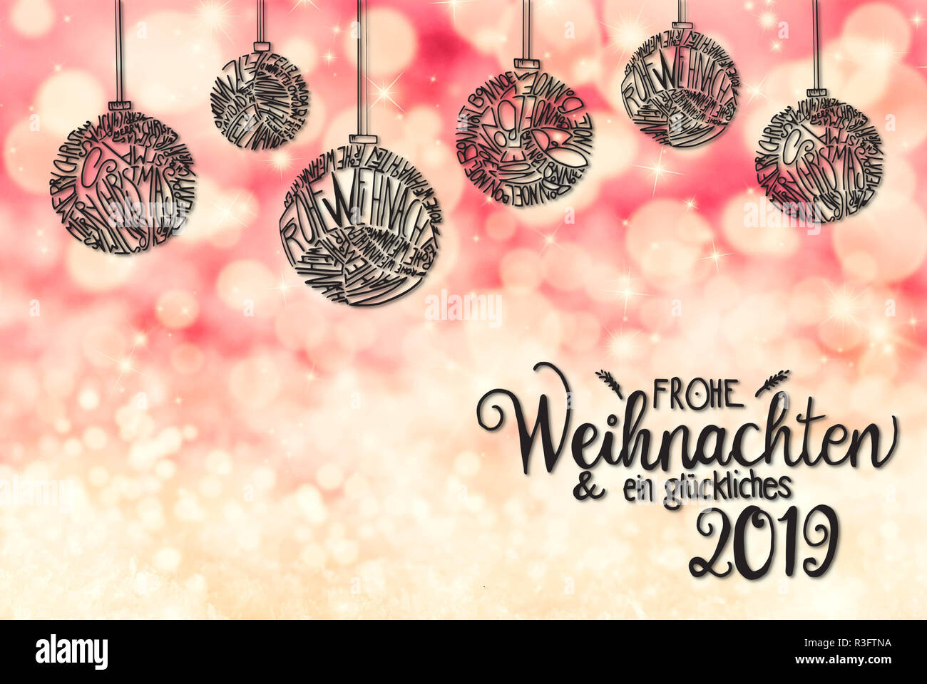 Sketch Weihnachten.Sketch Of Christmas Tree Ball Ornament Merry Christmas In Different