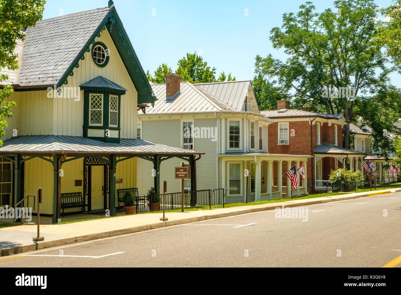 622dfabb4f75 VMI Admissions office, Pendleton-Coles House, Virginia Military Institute,  Lexington, Virginia
