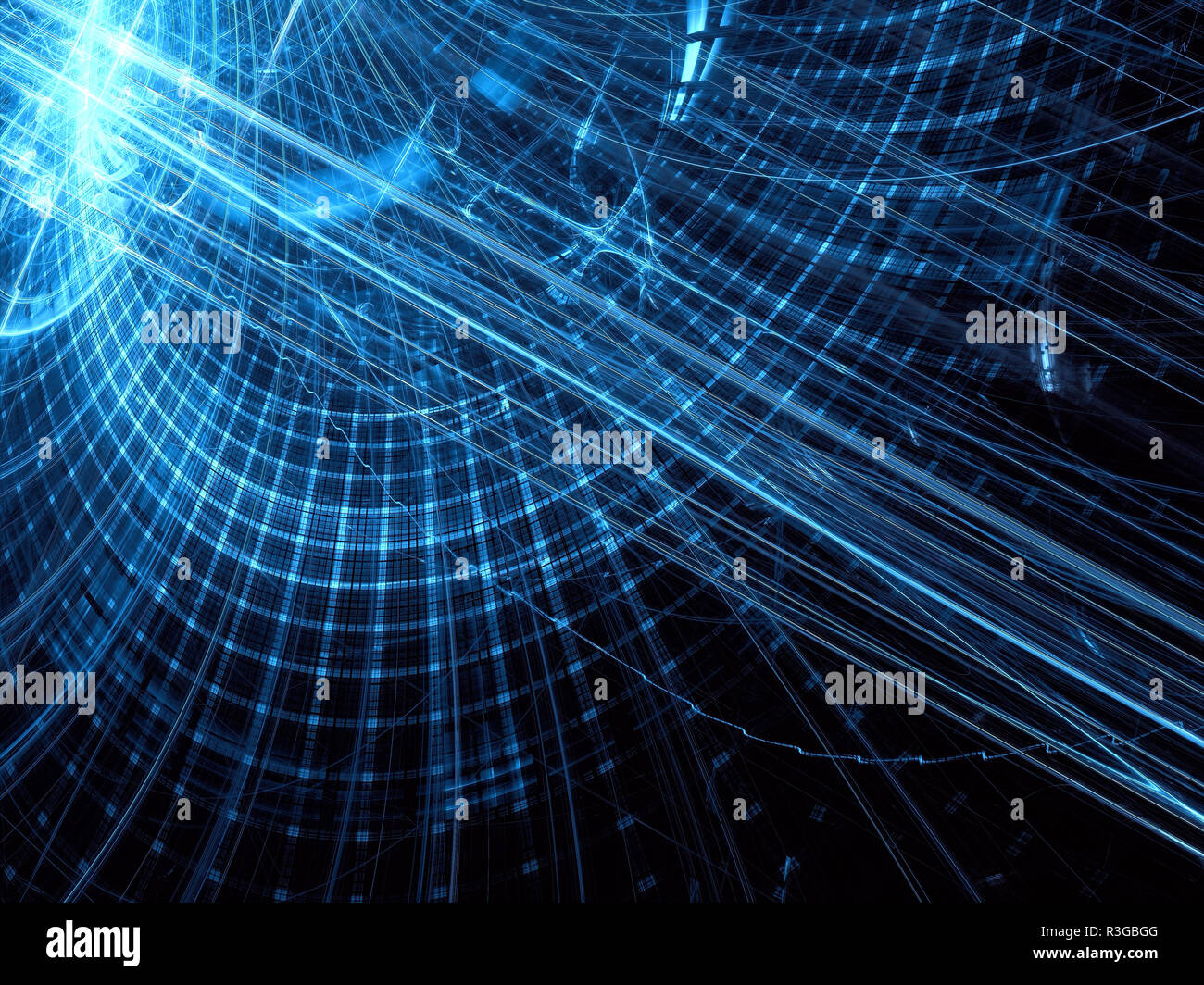 Abstract Technology Background With Light Effect: Tech Background Stock Photos & Tech Background Stock