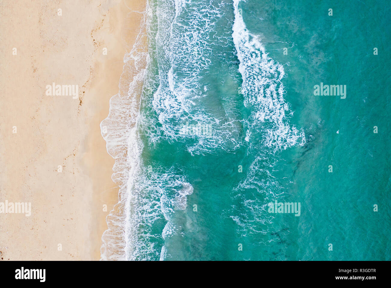 Clear Map Of Italy.Spectacular Aerial View Of A Beautiful White Beach Bathed By A Clear