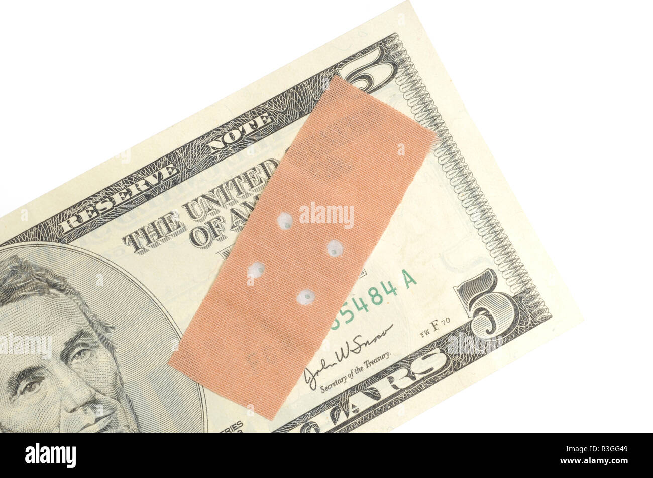 currency weakness / currency weakness - Stock Image
