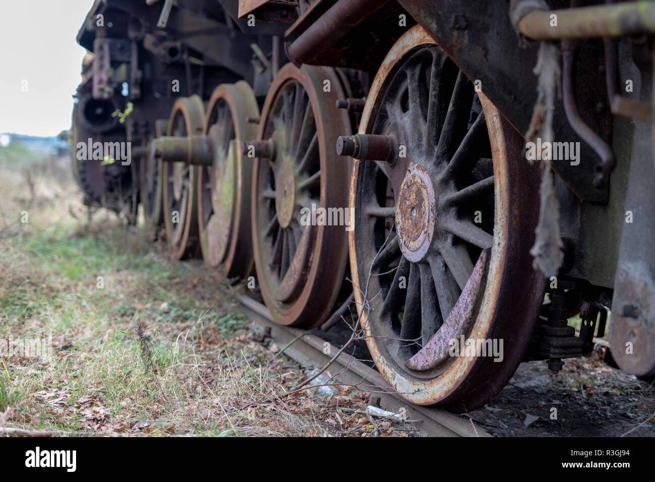 Steam Engine Scrap Yard Stock Photos Amp Steam Engine Scrap