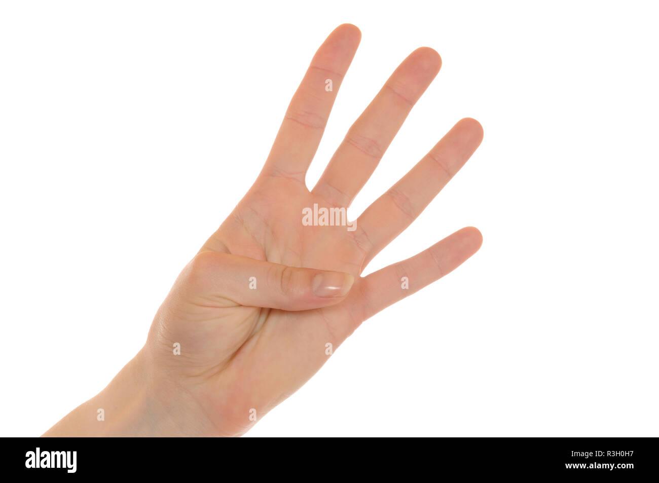 hand - Stock Image
