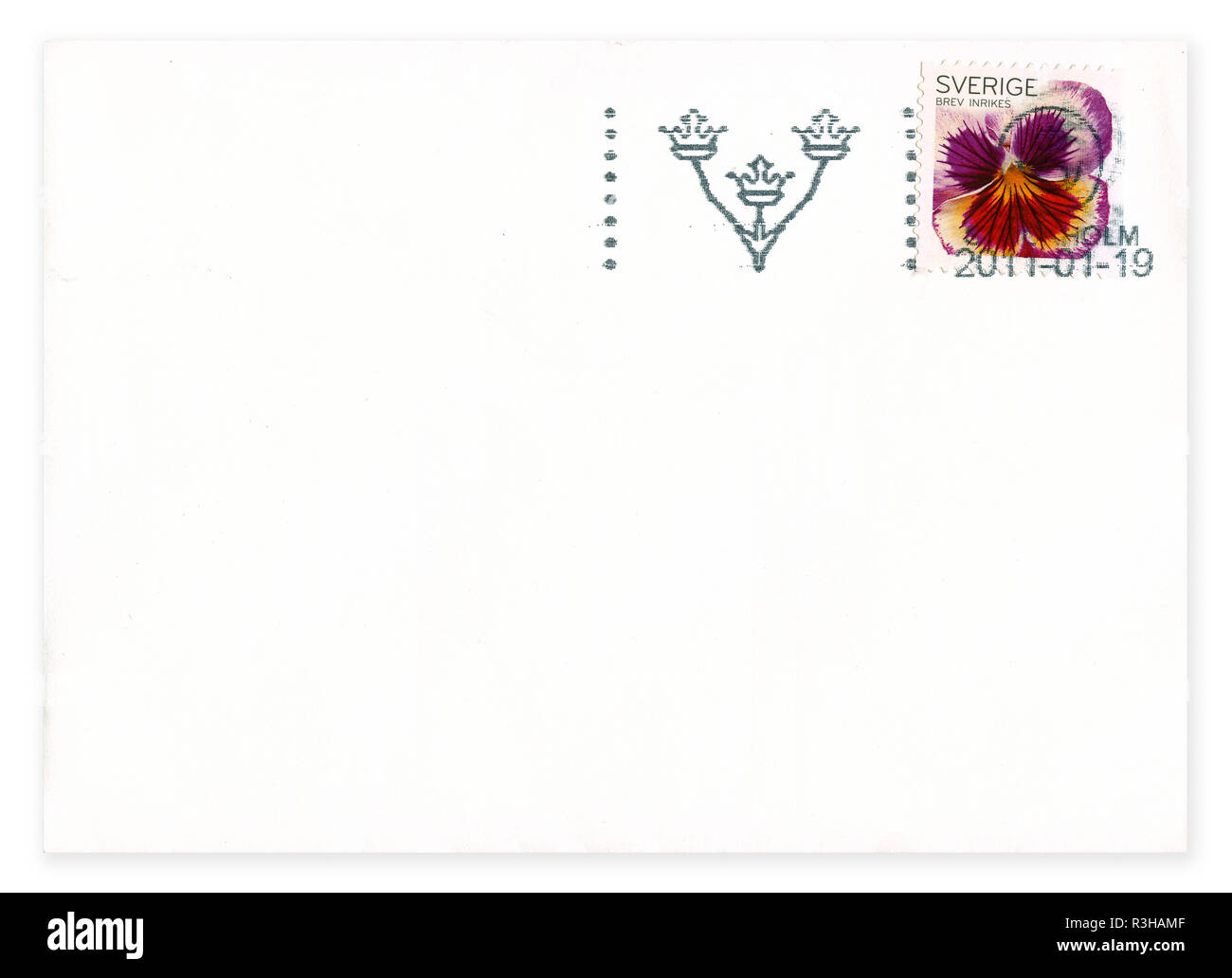 Postage stamp from Sweden in the Flora (Flowers - General) series issued in 2010 - Stock Image