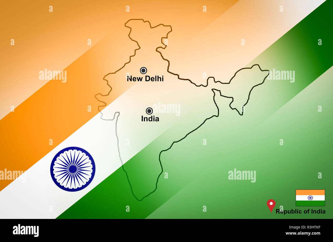 India map and New Delhi with location map pin and India flag ... on map of hardoi india, map of colombo india, map of kolhapur india, map of bihar state india, interactive map of india, map of kanpur india, map of guntur india, map of mumbai india, map of kollam india, map of pushkar india, map bangalore india, map of bay of bengal india, map of meghalaya india, map of varanasi india, map of pune india, map of istanbul turkey, map of rajkot india, map of gorakhpur india, map of princely states india, map of san pedro sula honduras,